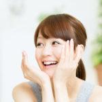 美容鍼で笑顔に変わる女性